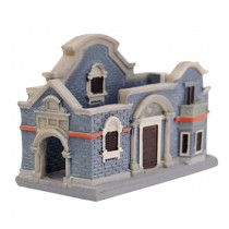 Building Model Building Decoration Art Crafts Practical Card Case