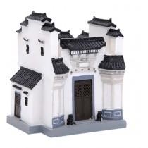 Huizhou Houses Building Model Features Crafts Creative Pen Holder