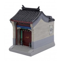 Features Crafts Huizhou Houses Building Model Creative Pen Holder