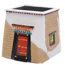 Features Crafts Tibetan houses Building Model Creative Pen Holder