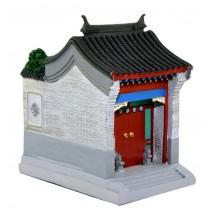 Beijing Courtyard Model Residential Building Model Creative Pen Holder