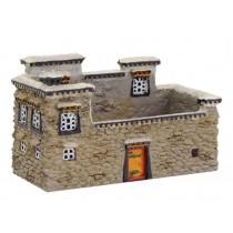 Features Building Decoration Art Crafts Practical Card Case Building Model