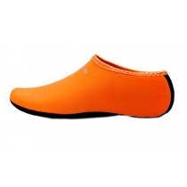Sand Socks Water Skin Shoes Diving Socks,Orange XXL