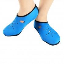 Sand Socks Water Skin Shoes Diving Socks,Light Blue XXL
